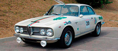 Alfa Romeo 2600 Coupé Sprint Bertone