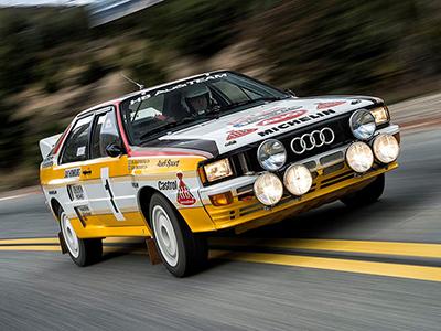 Audi Quattro A1 y A2 Grupo B