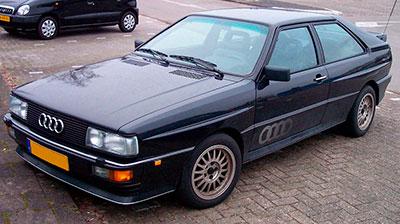 Audi Quattro original (Ur-Quattro) y Grupo 4