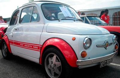 Fiat 500 - 695 Racing Setup