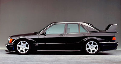Mercedes 190E W201 Evolution 2