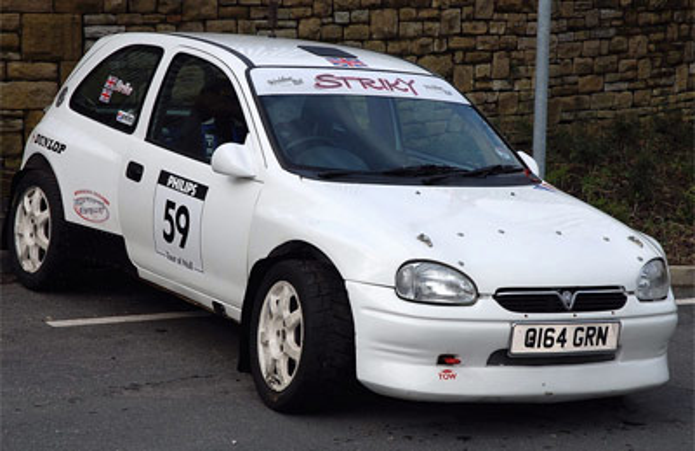 Opel Corsa B Ancho