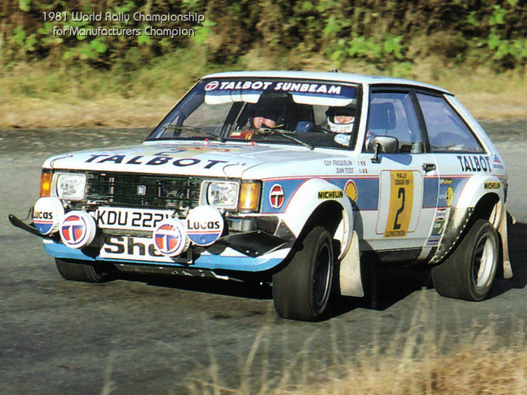 Image result for talbot sunbeam rally