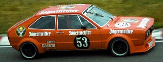 Volkswagen Scirocco Jagermeister